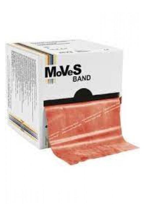 MSD Moves-Band Kırmızı Renk Pilates Bandı (Orta sert)