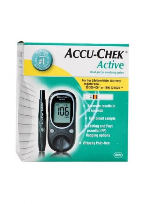 Accu Chek Active Şeker Ölçüm Cihazı + Strip